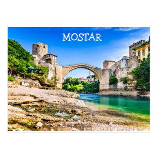 Postcard  Mostar