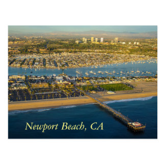Postcard Newport Beach California
