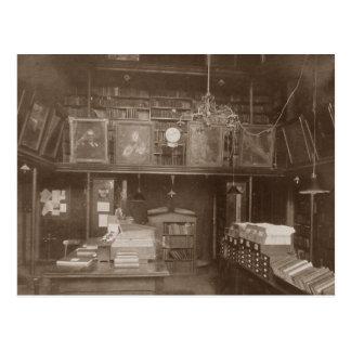 Postcard of Charging desk