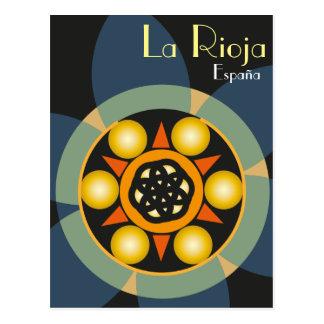 Postcard of La Rioja, Spain