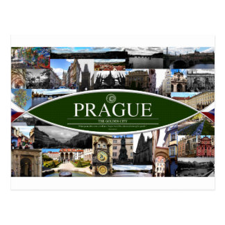 Postcard of Prague
