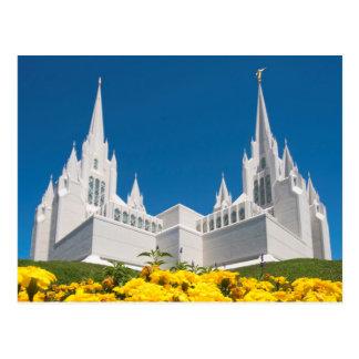 Postcard of San Diego Temple