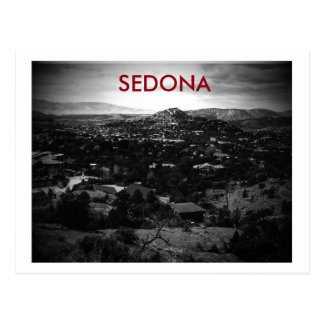 Postcard of sedona, arizona