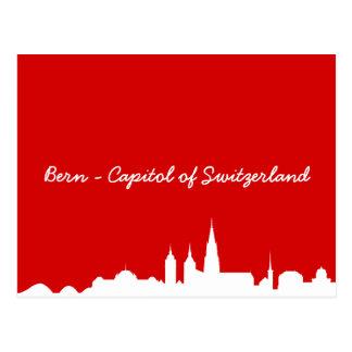 Postcard of skyline Berne
