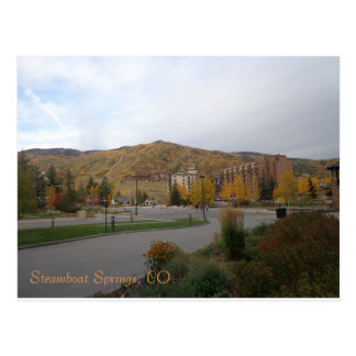 Postcard of Steamboat Springs, Colorado
