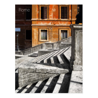 Postcard of the Spanish Steps, Rome, Italy