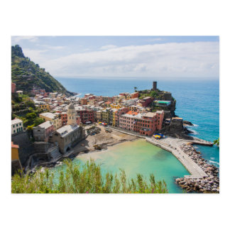 Postcard of Vernazza, Cinque Terre, Italia