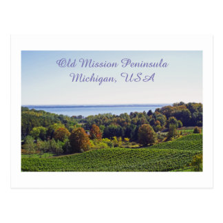 "postcard, ""OLD MISSION PENINSULA/MICHIGAN"" Postcard"