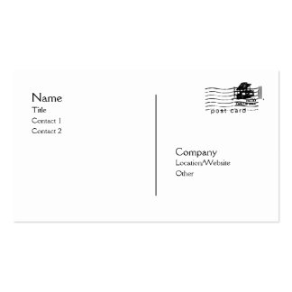 Postcard Pack Of Standard Business Cards