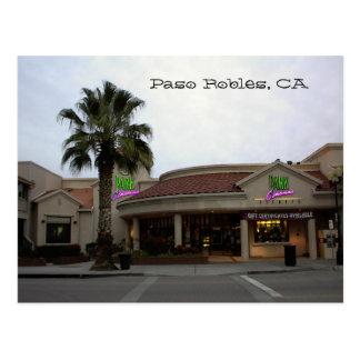 Postcard, Park-Cinemas, Paso Robles, CA Postcard