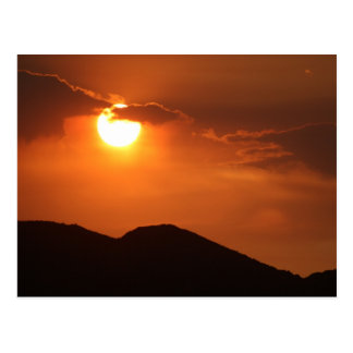Postcard  Photography of a sunset in Arizona 4