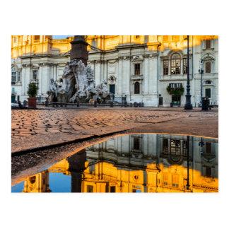 Postcard, Piazza Navona Postcard