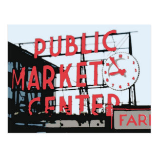 Postcard - Pike Place Market