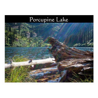 "POSTCARD ~ ""Porcupine Lake"" near Clark Fork, Idaho"