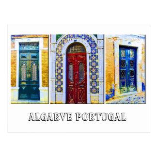 Postcard: Portuguese doors
