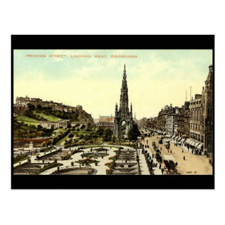 Postcard, Princes Street, Edinburgh Postcard