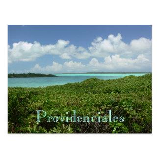 """postcard, """"PROVIDENCIALES/TURKS & CAICOS ISLANDS"""" Postcard"""