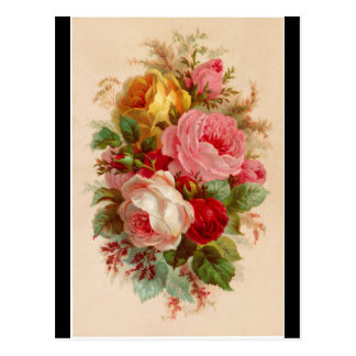 Postcard - Rose Bouquet