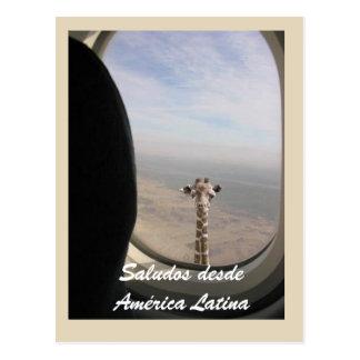 postcard Saludo desde America Latina