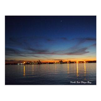 Postcard - San Diego Bay