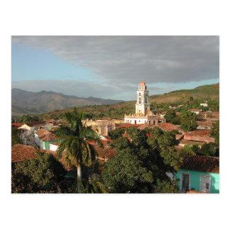 Postcard Sancti Spiritus in Trinidad, Cuba