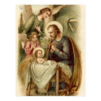 Postcard (Scripture): St. Joseph Nativity