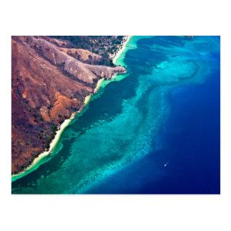 Postcard Scuba diving Indonesia - Bali - Komodo