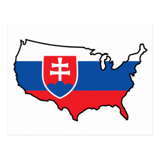 Postcard: Slovak in USA Postcard