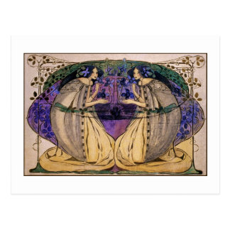 Postcard: Spring by Frances Macdonald Postcard