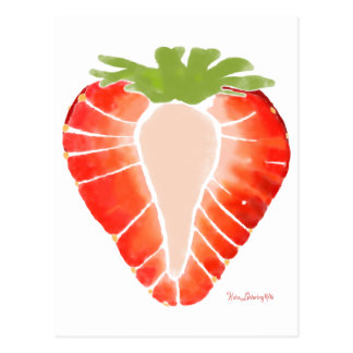 Postcard - Strawberry Secret