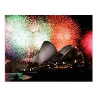 Postcard-Sydney Opera House