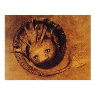 Postcard: Symbolist Artwork: The Chimera