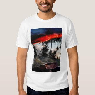 postcard t-shirt