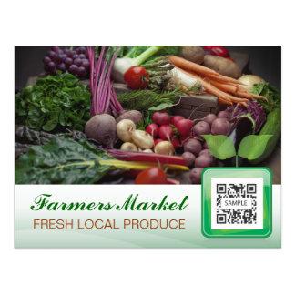 Postcard Template Fresh Produce