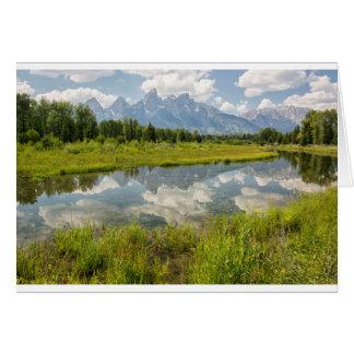 Postcard - Tetons Reflected Greeting Card