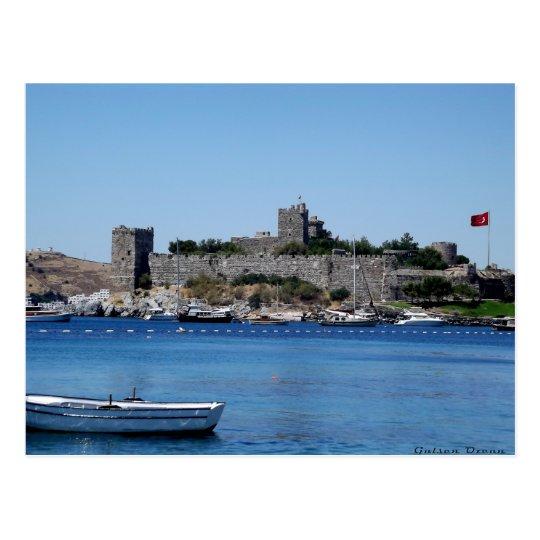 Postcard The Castle Off Bodrum - Turkey