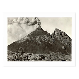 Postcard, The Central Cone of Vesuvius Postcard