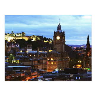Postcard The Edinburgh Castle in Glasgow