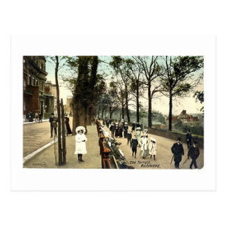 Postcard, The Terrace, Richmond, Surrey Postcard