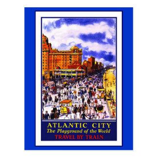 Postcard Travel America Print Retro Vintage Travel