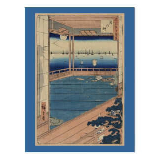 Postcard-Vintage Japanese Art-Ando Hiroshige 5 Postcard