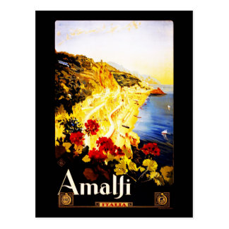Postcard-VIntage Travel-Amalfi Postcard