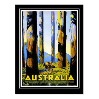 Postcard Vintage Travel Australia Postcard