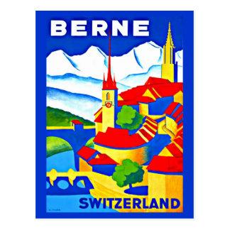 Postcard-Vintage Travel-Berne Postcard