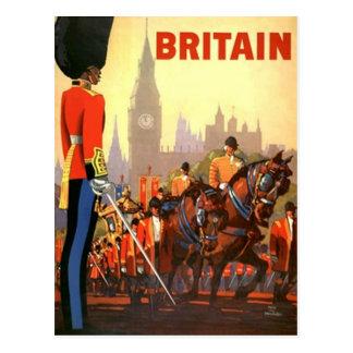 Postcard Vintage Travel Britain United Kingdom PC