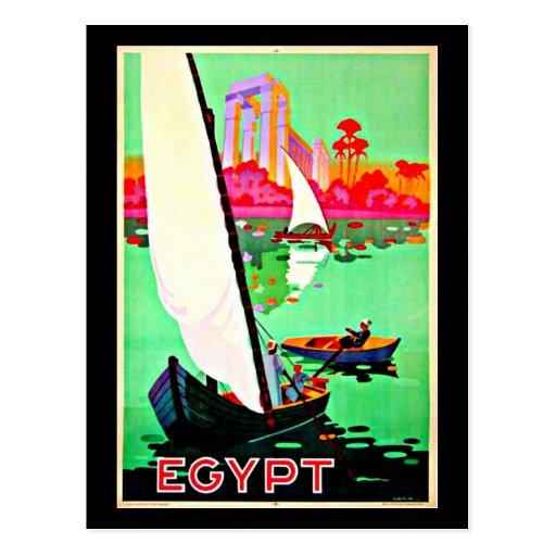 Postcard-Vintage Travel-Egypt