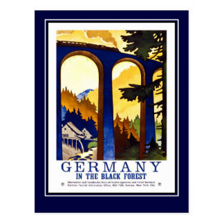 Postcard Vintage Travel Germany