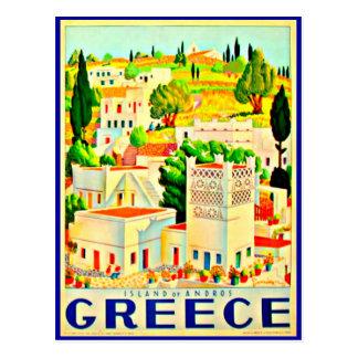 Postcard-Vintage Travel-Greece 6 Postcard