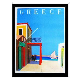 Postcard-VIntage Travel-Greece Postcard