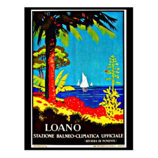 Postcard-Vintage Travel-Loano